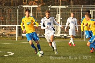 EnBW OL BW - FC Astoria Walldorf U19 vs. SSV U19 (26.11.17)