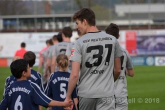 Oberliga BW - FV Ravensburg vs. SSV (10.04.18)