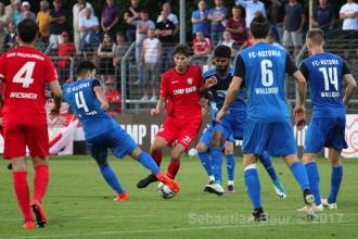 Oberliga BW - SSV vs. FC Astoria Walldorf II (23.08.17)