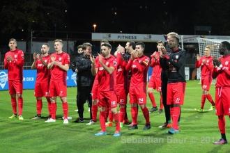 Oberliga BW - SSV vs. FC Nöttingen (27.10.17)