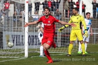 Oberliga BW - SSV vs. FSV 08 Bissingen (02.04.18)