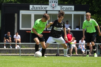 Verbandsstaffel Süd - SSV U17 vs. TSG Balingen U16 (10.06.18)