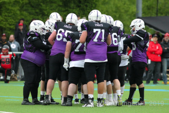 American Football Oberliga BW - Reutlingen Eagles vs. Tübingen Red Knights (03.05.19)