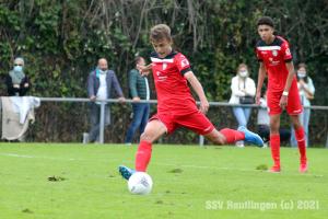 B-Junioren Bundesliga Sued-Suedwest - FSV Frankfurt U17 vs. SSV U17  (19.09.21)
