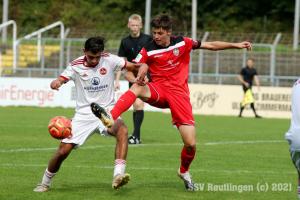 B-Junioren Bundesliga Sued-Suedwest - SSV U17 vs. 1. FC Nuernberg U17 (26.09.21)