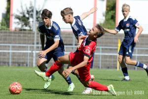 B-Junioren Bundesliga Sued-Suedwest - SSV U17 vs. SpVgg Unterhaching U17 (12.09.21)