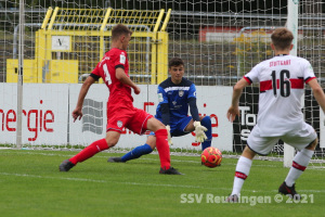 B-Junioren Bundesliga Sued-Suedwest - SSV U17 vs. VfB Stuttgart U17 (22.08.21)