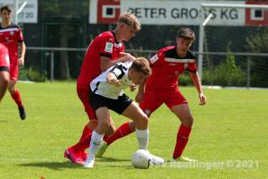 B-Junioren Bundesliga Sued-Suedwest - SV Elversberg U17 vs. SSV U17 (15.08.21)