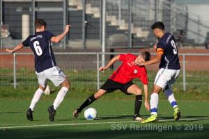 Bezirksstaffel - SSV U18 vs. Young Boys Reutlingen U19 (26.10.19)