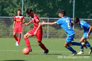 EnBW OL BW - SSV U15 vs. FC Astoria Walldorf U15 (25.09.21)