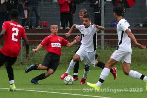 EnBW OL BW - SSV U17 vs. TSG Balingen U17 (30.08.20)