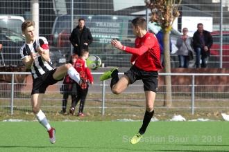 EnBW OL BW - SSV U19 vs. SV Sandhausen U19 (04.03.18)