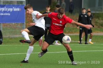 EnBW OL BW - SSV U19 vs. SV Sandhausen U19 (11.10.20)