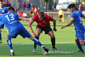 EnBW OL BW - SSV U19 vs. SV Stuttgarter Kickers U19 (02.09.20)