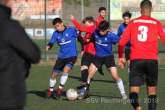 EnBW OL BW - SV Waldhof Mannheim U19 vs. SSV U19 (18.11.18)
