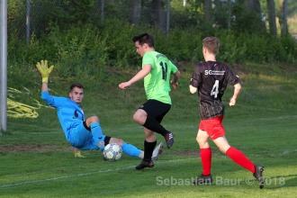 Entscheidungsspiel - SG Degerschlacht-Sickenhausen vs. SGM Metzingen-Reutlingen U18 (18.05.18)