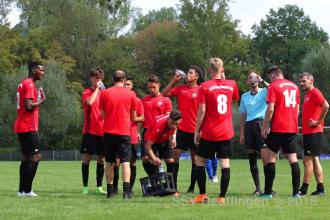 KL A2 - SSV U21 vs. TG Gönningen (19.08.18)