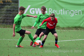Landesstaffel - SSV U14 vs. TuS Ergenzingen U15 (09.11.19)