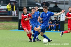 Landesstaffel - SSV U16 vs. 1. FC Eislingen U17 (26.09.21)