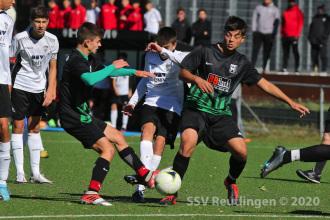 Landesstaffel - SSV U16 vs. GSV Maichingen U17 (04.10.20)