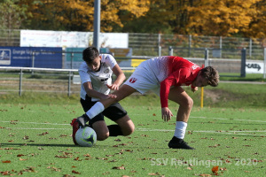 Landesstaffel - SSV U16 vs. TSG Tübingen U17 (25.10.20)
