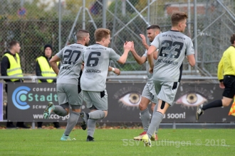 Oberliga BW - 1. FC Normannia Gmünd vs. SSV (03.11.18)