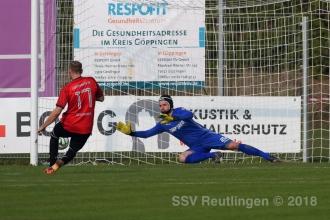 Oberliga BW - 1. Göppinger SV vs. SSV (20.10.18)
