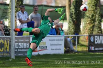 Oberliga BW - FC Germania Friedrichstal vs. SSV (31.03.19)
