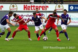 Oberliga BW - FC Noettingen vs. SSV (07.08.21)