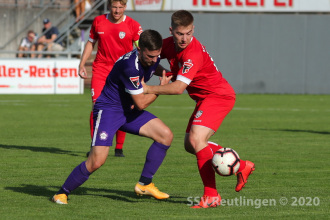 Oberliga BW - FC Nöttingen vs. SSV (19.09.20)