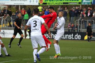 Oberliga BW - SSV vs. 1. CfR Pforzheim (24.11.18)