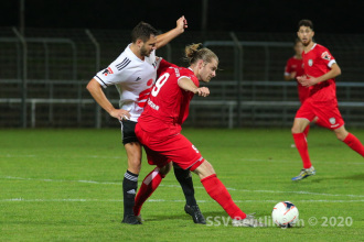Oberliga BW - SSV vs. 1. FC Bruchsal (16.09.20)