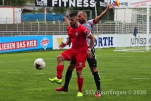 Oberliga BW - SSV vs. 1. Göppinger SV (05.09.20)