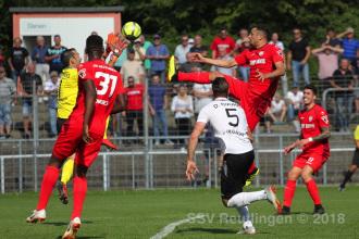 Oberliga BW - SSV vs. FC 08 Villingen (08.09.18)