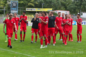 Oberliga BW - SSV vs. FC Astoria Walldorf II (29.08.20)