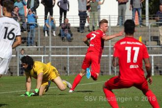 Oberliga BW - SSV vs. FC Germania Friedrichstal (22.09.18)