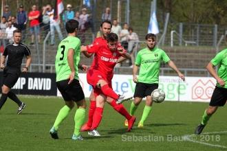 Oberliga BW - SSV vs. SGV Freiberg (14.04.18)