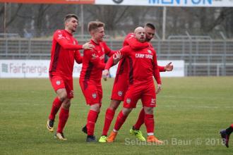 Oberliga BW - SSV vs. SV Sandhausen II (17.03.18)