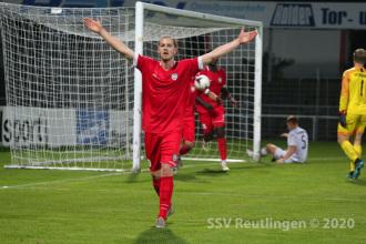 Oberliga BW - SSV vs. SV Sandhausen II (30.09.20)