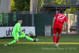 Oberliga BW - SSV vs. SV Spielberg (08.05.18)