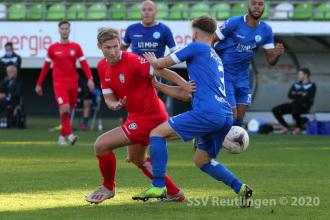 Oberliga BW - SSV vs. SV Stuttgarter Kickers (24.10.20)