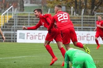 Oberliga BW - SSV vs. TSG Weinheim (18.11.17)