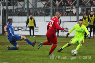 Oberliga BW - SV Stuttgarter Kickers vs. SSV (09.12.18)