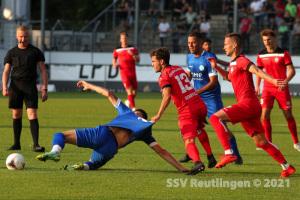 Oberliga BW - SV Stuttgarter Kickers vs. SSV (20.08.21)