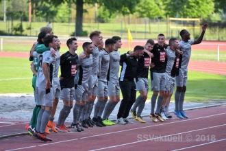 Oberliga BW - TSG Weinheim vs. SSV (19.05.18)