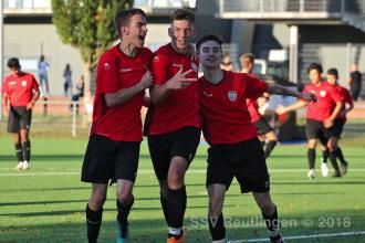 Quali-Leistungsstaffel - SSV U18 vs. VfL Pfullingen U18 (13.10.18)