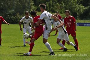 Testspiel - SSV U17 vs. SG Rot-Weiss Frankfurt U17 (16.08.20)