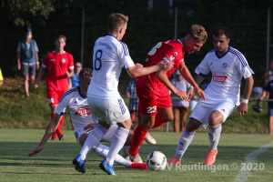 Testspiel - VfL Sindelfingen vs. SSV (28.07.20)