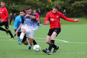 Verbandspokal B-Junioren - SSV U17 vs. VfL Pfullingen U17 (03.10.19)