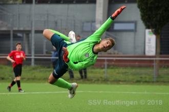 Verbandspokal - SSV U17 vs. FSV Hollenbach U17 (03.10.18)